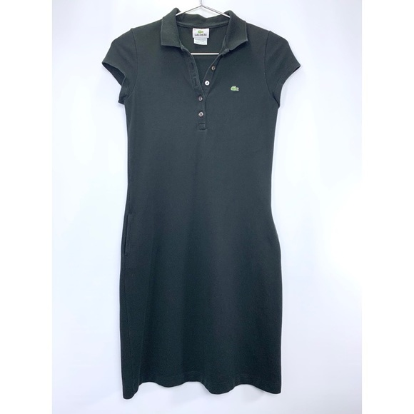 Lacoste Dresses & Skirts - Lacoste polo shirt dress with pockets
